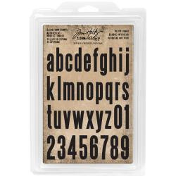 485469 Idea-Ology Cling Foam Stamps Block Lowercase Alpha 36/Pkg