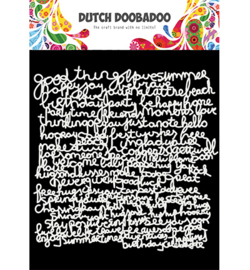470.715.626 Dutch DooBaDoo Dutch DooBaDoo Mask Art Text