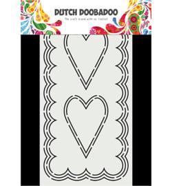 470.713.871 Dutch DooBaDoo Card Art Slimline Hearts