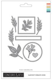 662345 Concord & 9th Dies Harvest Wreath