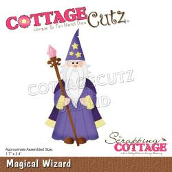 "CCE607 CottageCutz Dies Magical Wizard 1.7""X3.4"""