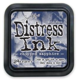 TIM27119 Distress Inkt Pad Chipped Sapphire