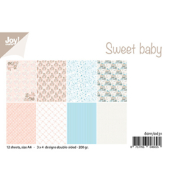 6011/0631 Papier Set Design Sweet baby