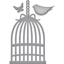 S3277 Spellbinders Shapeabilities Die D-Lites Bird Cage