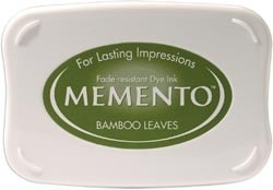 407311 Memento Full Size Dye Inkpad Bamboo Leaves