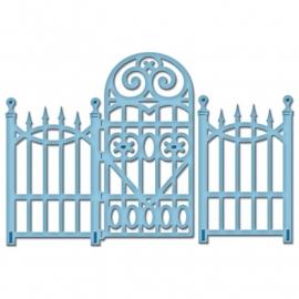 S2-080 Spellbinders Shapeabilities Die D-Lites Garden Gate