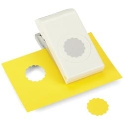 E5431007 Nesting Paper Punch Scallop Circle 1.25""