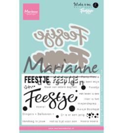 KJ1728 Marianne Design Karin's Feestje