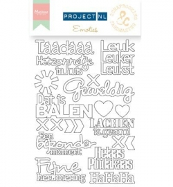 PL3503 - Project NL Chipboard -Emoties