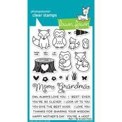 LF1134 Lawn Fawn Clear Stamps Mom & Me