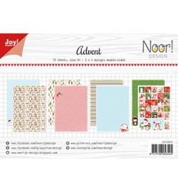 6011/0673 Joy!Crafts / Noor! Design Papierset Noor Design Advent