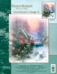 257963 Borduurpakket Sweet Heart Cottage II