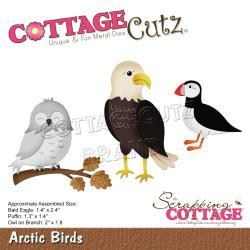 "CC701 CottageCutz Dies Arctic Birds, 1.4"" To 2.4"""