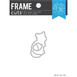 663204 Hero Arts Frame Cut Dies Color Layering Chipmunk