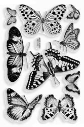385122 Stampendous Clear Stamps Butterflies
