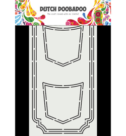 470.713.870 Dutch DooBaDoo Card Art Slimline Jeans