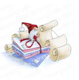 606582 Stamping Bella Cling Stamps Gnome W/A List