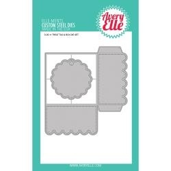 411776 Elle-Ments Dies Treat Tag & Box