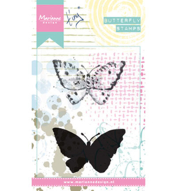 MM1614 Stempel Tiny's butterfly 2