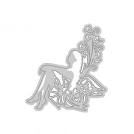 1002E Tonic Studios Rococo die fairy rhoslyn
