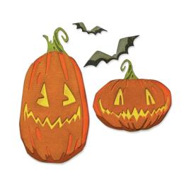 665556 Sizzix Thinlits Dies Pumpkin Patch Colorize By Tim Holtz 12/Pkg