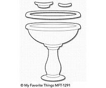 MFT-1291 My Favorite Things Birdbath Die-Namics