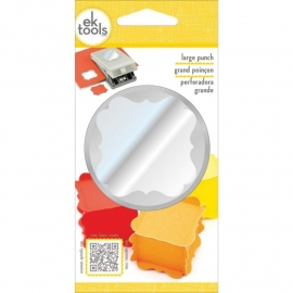 54-30100 Slim Paper Punch Extra Large Flourish Square Approx. 1.75""