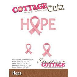 """321991 CottageCutz Die Hope .6"""" To 3"""""""