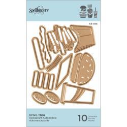 S3355 Spellbinders Shapeabilities Die D-Lites Drive-Thru