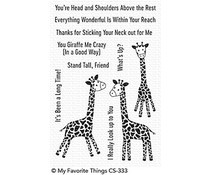 CS-333 My Favorite Things Sassy Pants Best Friends Clear Stamps