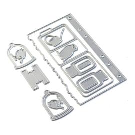 EC1839 Elizabeth Craft Metal Die Sidekick Essentials 17