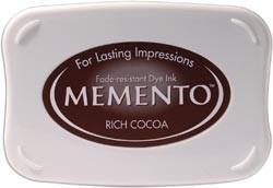 407312 Memento Full Size Dye Inkpad Rich Cocoa