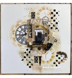 472.950.007 Dutch DooBaDoo Dutch Paper Art Clocks