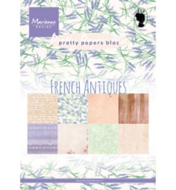 PK9167 Pretty Papers Blocks French Antiques