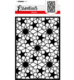 SL-ES-MASK39 - SL Mask Christmas Star background Essentials nr.39