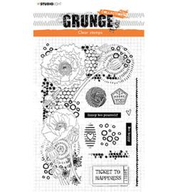 SL-GR-STAMP42 StudioLight Clear Stamp Elements Grunge Collection nr.42