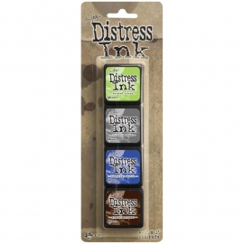 TDPK 46745 Distress Mini Ink Kits Kit 14