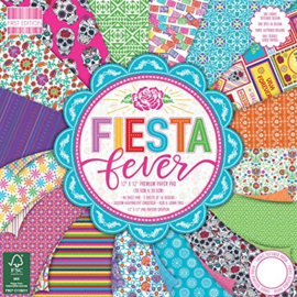**  First Edition  12x12 Paper Pad Fiesta Fever