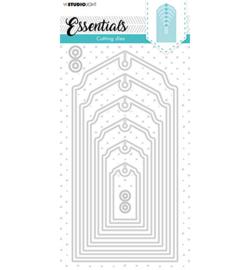 SL-ES-CD105 StudioLight  Cutting Die Urban Tag Essentials nr.105