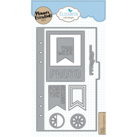 EC1605 Elizabeth Craft Metal Die Planner Essentials 3