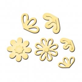 S2133 Spellbinders Shapeabilities Die D-Lites Pretty Petals D