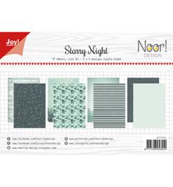 6011/0674 Joy! Crafts / Noor! Design  Papierset Design Starry Night