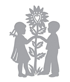S3-364 Spellbinders Love & Flowers