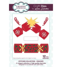 CEDLH1043 The Stitched Collection Cracker