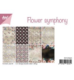 6011/0550 Papier Set Flower Symphony A4