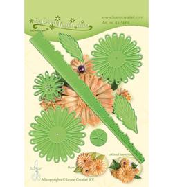 455664 LeCrea'Multi Die Cutting/Emb Flower 018 Chrysanthemum 3D
