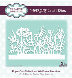 CEDPC1037 The Paper Cuts Collection Wildflower Meadow
