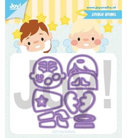 6002/1327 Cutting & embossing Jocelijne Jingle Angel