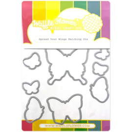 657041 Waffle Flower Die Spread Your Wings Matching