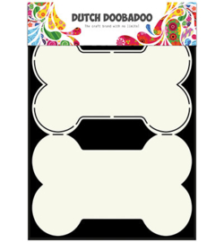 470.713.627 Dutch DooBaDoo Card Art Dog bone A5